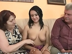 She is riding my dad'_s cock&hellip_