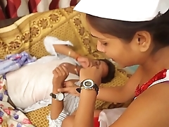 Hot Indian short films- Doctor And Patient - Tight tit grope 10 mins HD