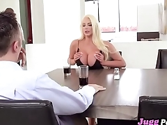 Your sister Nicolette Shea suscks my dick