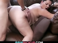 He picks up and fucks busty hottie