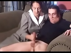 Hot Mother Teaches Him a Lesson  Free - hotcamgirlsvideos.com