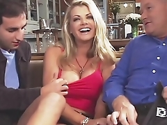 Amazing Vicky Vette Fucks 4 Guys Plus One Old guy!