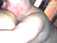 Part 2 Chubby Silverdaddy Bear Sucks Uncut Cock and Licks Ass Deep
