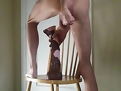 Horse Cock Ass Stretching Dildo and Anal Fist Fuck