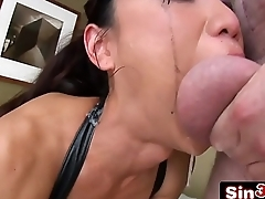 Sweet Asian Dick Sucker Tia Ling Drooling Deepthroat Nastiness