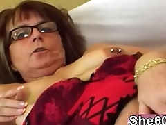 Old babe Jana takes younger cock in cunt on couchman-hi-2