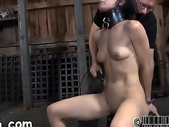 Facial castigation for sweet playgirl
