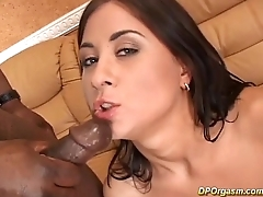 her first double anal penetration