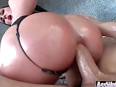 Big Ass Girl (Brittany Shae) Get Oiled Up And Hard Analy Nailed On Cam mov-14