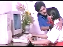 Indian Girl mallu with Computer Teacher south desi