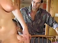 Vintage orgy with horny retro sluts at a fuck party