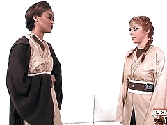 Hottest Lesbian Cosplay With Penny Pax &amp_ Skin Diamond!