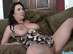 Busty milf banged by fat prick
