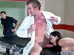 Hot Sexy Patient (Ariella Ferrera) Get Horny And Bang Hard Style With Doctor mov-05