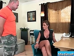 Secretary with big tits fucked by her boss 13