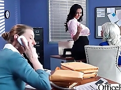 Office Girl (Ava Addams &amp_ Riley Jenner) With Big Round Melon Tits Like Sex mov-09