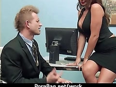 HOT horny executive hottie massaged and fucked hard in office 12