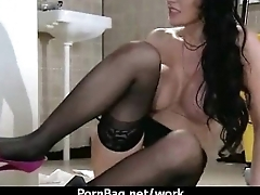 HOT horny executive hottie massaged and fucked hard in office 7