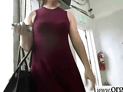 Slut Girl (Kimmy Fabels) For Some Cash Get Busy In Sex Act mov-18