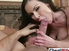 Cheating Wife (adriana kendra) Like Hardcore Sex Action On Camera mov-02