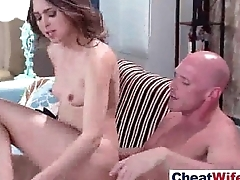 Cheating Wife (riley reid1) Like Hardcore Sex Action On Camera mov-21