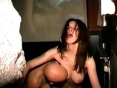 Swingers in adult store