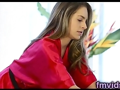 Beautiful Kimmy Granger fucked after massage