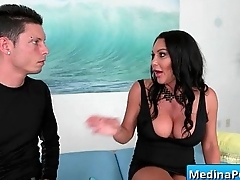 Secretary with big tits gets banged by her boss 10