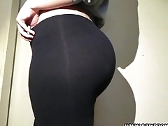 bbw girlfriend booty leggings