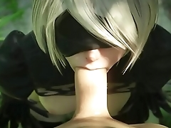 NieR 2B'_s Decrypted Sex Files [Classified] 2B
