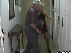 He finds his mom and dad fucking her