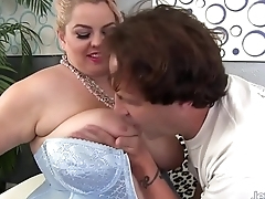 Sexy fat girl fucked good