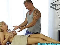 Bigtits beauty banged during steamy massage