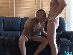 Sex starved Nico Blade enjoys drilling Juniors tight rear