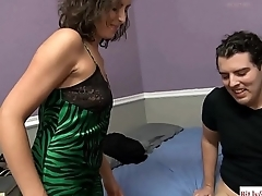 Mom Gives Her Son A Sex Lesson