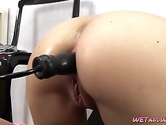 Bizarre Pissing and Toy Scene